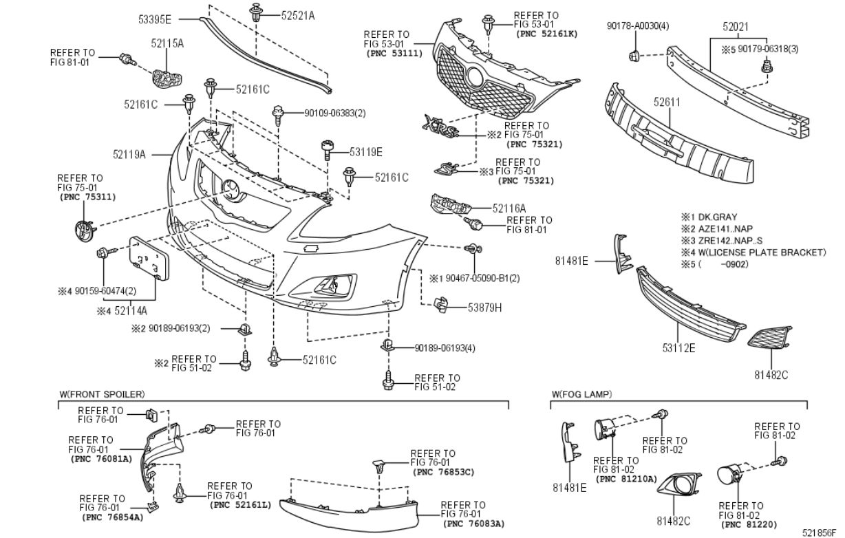 Step By On How To Replace The Fog Light Bulbs Toyota Rav4 Forums 2012 V6 Wiring Diagram